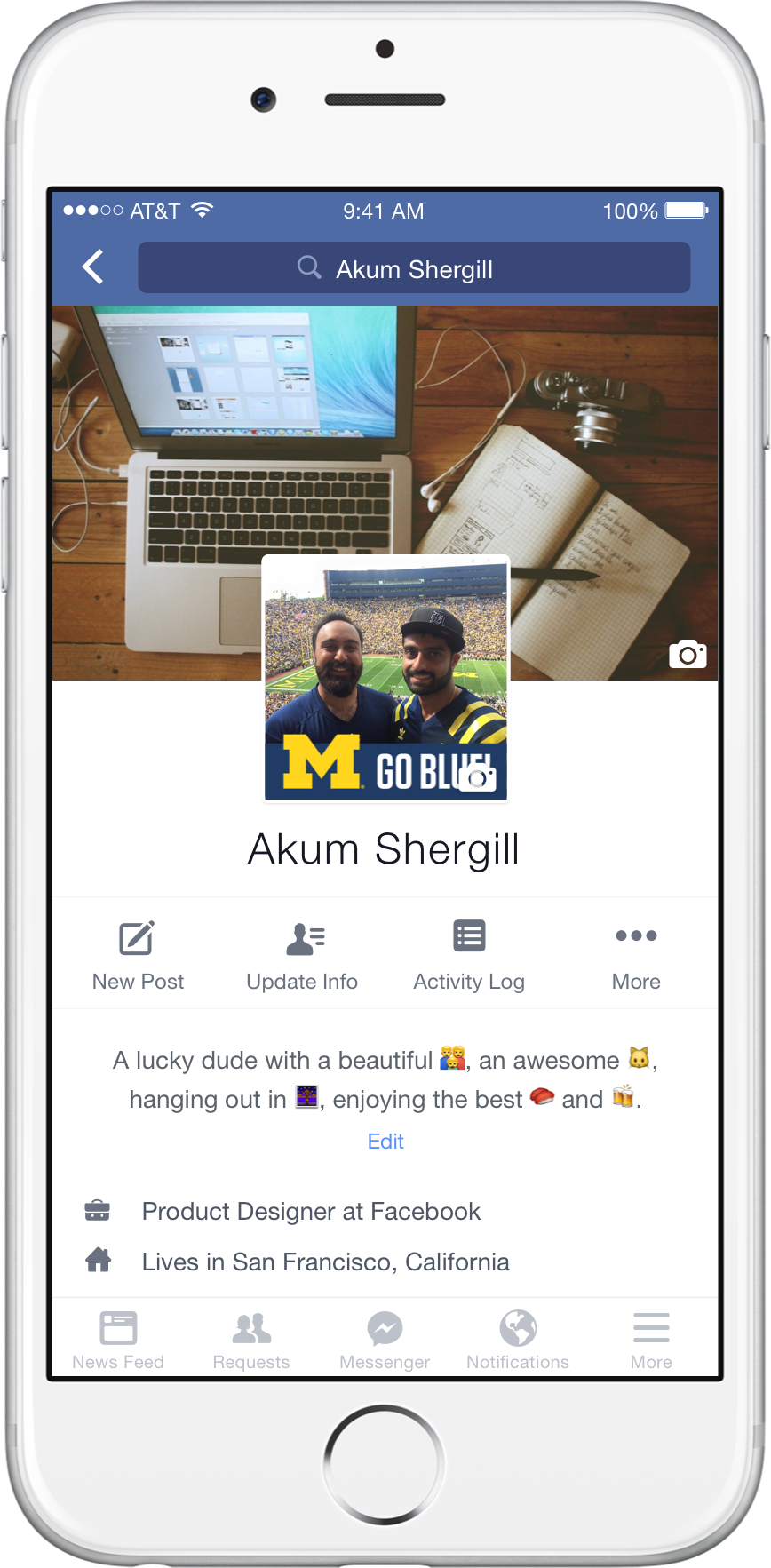 Facebook Collage NCAA